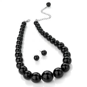 blackgbead_necklace_earrings