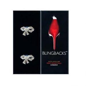 Blingbacks Silver Bows