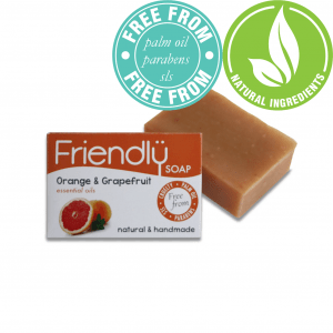 Friendly Soap Orange and Grapefruit Soap