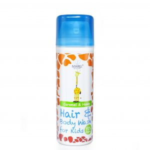 Kids Caramel & Honey hair and body wash
