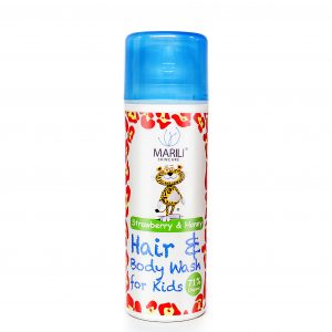 Kids Strawberry & Honey hair and body wash