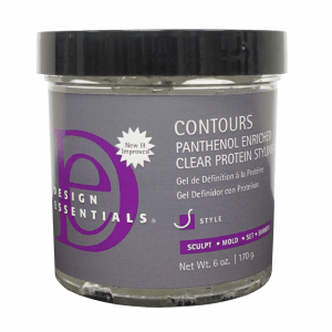 Design Essentials Contours Panthenol Enriched Clear Protein Styling Gel
